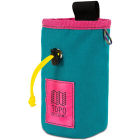 Topo Designs Chalk Bag, turquoise/pink